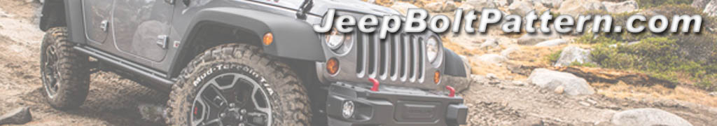 Jeep Wheel Bolt Pattern Banner
